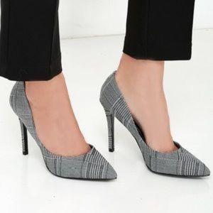 Charles David Shoes - Charles by Charles David Plaid Point Toe Heels